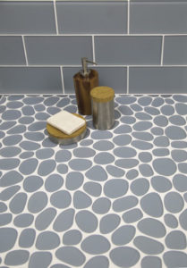 Spindrift Gl Mosaics By Island Stone Organic Earance And Smooth Feel Underfoot Of Beach Pebbles